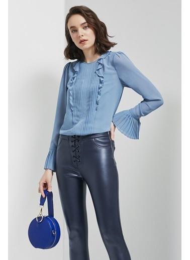 Perspective Bluz Mavi